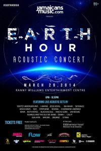 Earth Hour Acoustic Concert in Kingston, Jamaica.