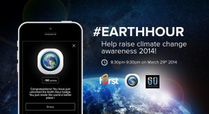 Check in with F1rst during Earth Hour in the Caribbean...