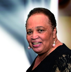 Jamaican journalist, dramatist and cultural activist Dr. the Hon. Barbara Gloudon. (PhotoL Institute of Jamaica)