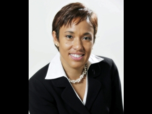 Ms. Jacqueline Sharp, President/CEO of Scotiabank Jamaica Group.