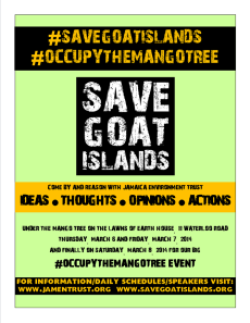 Save Goat Islands