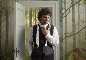 "Jonas Kaufmann in this production of ""Werther."" (Photo: Brigitte Lacombe/Metropolitan Opera)"