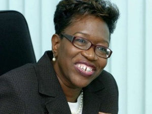 Jamaica's formidable Director of Public Prosecutions Paula Llewellyn has a broad, broad smile.