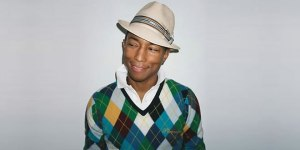 Just because he's cute and a little bit eccentric… I give you Mr. Pharrell Williams, again.