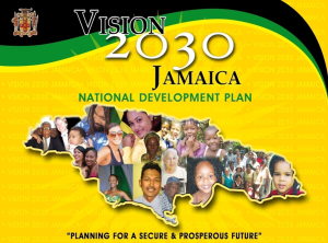 Jamaica's VIsion 2030 is available online at http://www.vison2030.gov.jm