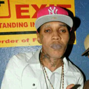 Vybz Kartel, looking pale.