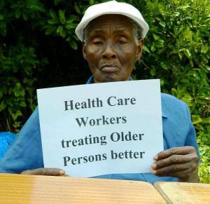 Here's what Carron Hall resident Isilda Leanor, 72, wants to see for World Health Day in Jamaica! (Photo: HelpAge International Jamaica Facebook page)