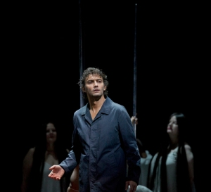 Tenor Jonas Kaufmann in the latest production directed by Francois Girard at the Metropolitan Opera of New York. (Photo: Ken Howard/Met Opera)