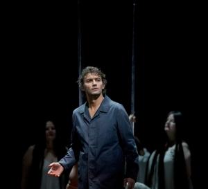 Tenor Jonas Kaufmann in the latest production directed by Francois Girard at the Metropolitan Opera of New York. (Photo: Ken Howard/Met Opera)