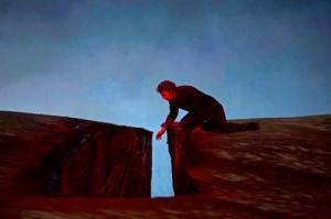 The fantastic German tenor Jonas Kaufmann as Parsifal in the Metropolitan Opera of New York's latest production.