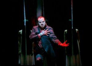"Evgeny Nikitin as the magician Klingsor in ""Parsifal"" at the Metropolitan Opera of New York. (Photo: Sara Krulwich/New York Times)"
