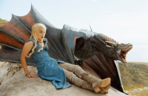 How do I get one of these dragons? Emilia Clarke as Daenerys Targaryen.