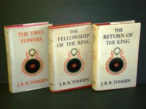 """The Lord of the Rings"" by J.R.R. Tolkien."