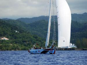 Yachts from the Clipper Race started arriving in Port Antonio over the weekend. (Photo: clipperroundtheworld.com)