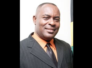 Acting Mayor of Portmore Leon Thomas should have stepped down by now, but according to one of the local Members of Parliament he might as well stay on until the next local government elections - due in the next year. (Photo: Gleaner)