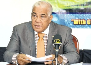 Our Climate Change Minister, Robert Pickersgill, will NOT be representing Jamaica at the crucial Climate Change Conference. How odd. (Photo: Jamaica Observer)