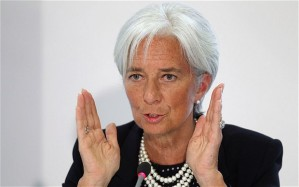IMF Managing Director Christine Lagarde. (Photo: AP)