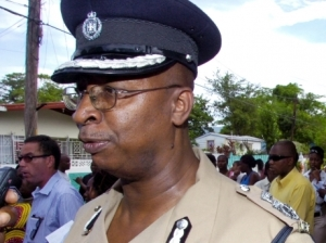 And here is our Acting Commissioner of Police since July 1, Glenmore Hinds. (Photo: Gleaner)