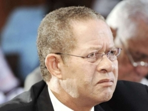Former Prime Minister Bruce Golding has a lot of baggage. (Photo: Gleaner)