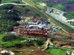 An aerial view of the UC Rusal Windalco Kirkvine bauxite plant in Manchester, which has been closed for five years now. (Photo: Gleaner)