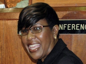 Faith Webster, Executive Director of the Bureau of Women's Affairs, whose life is on hold. (Photo: Gleaner)