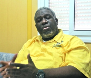 Dr. Irving McKenzie: We need at least 80 more dentists in the public sector. (My photo)