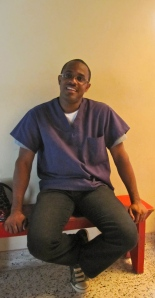 Kelvin Bird is a fourth year student of dental surgery with a lovely smile! (My photo)