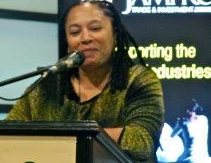 Founder of International Reggae Day Andrea Davis.