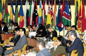 The International Seabed Authority meeting in Kingston this week. (Photo: Lionel Rookwood/Jamaica Observer)