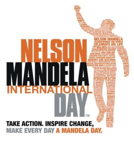 Nelson Mandela International Day, July 18.