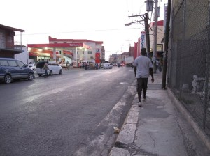 Barnett Street in downtown Montego Bay has a history, related to an uprising of Rastafarians and its brutal suppression in 1963 (the Coral Gardens incident).