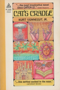 """History! Read it and weep!"" Kurt Vonnegut's fourth novel, ""Cat's Cradle,"" published in 1963, is a darkly satirical sci-fi novel."