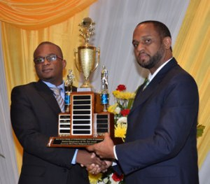 Another award which I did not mention: Gordon receives the Student Entrepreneur of the Year Award from the University of Technology in Jamaica.