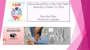 Eve for Life Jamaica will celebrate the International Day of the Girl Child in a very important way.