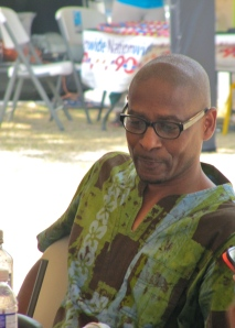 UWI's Michael Bucknor, who had been sitting in the audience, later joined the discussion.