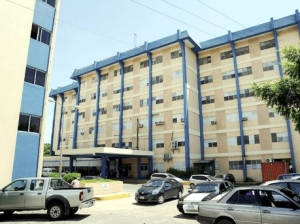 The Victoria Jubilee Hospital in Kingston.