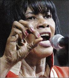 """""""We will be your worst nightmare"""": Portia Simpson Miller, then Opposition Leader, at the PNP Annual Conference in September, 2007. (Photo: Ricardo Makyn/Gleaner)"""