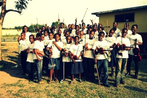 The National Youth Orchestra of Jamaica in 2010. (Photo: YardEdge)