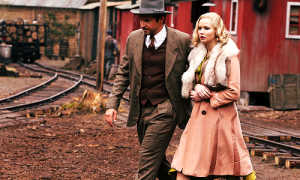 "Bradley Cooper and Jennifer Lawrence in the upcoming film of ""Serena"" directed by Susanne Bier."