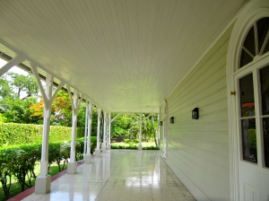 This beautiful verandah dates back to 1871.