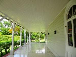This beautiful verandah dates back to 1871.