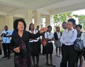Ambassador Coye tells us duppy stories.