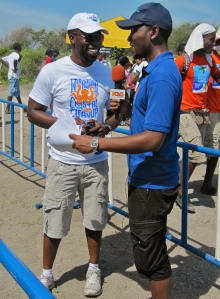 This roving reporter from Power 106 FM interviewed many people...