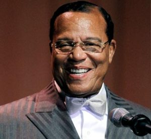Louis Farrakhan, Leader of the Nation of Islam since 1978.