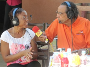 Head of St. Jago Cathedral Prep School's Environment Club and dedicated teacher Nadia Guy talks to Hot 102 FM's Dickie Crawford on the air.