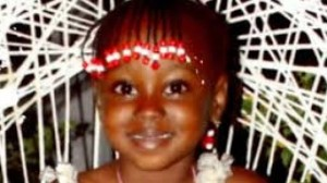 Seven-year-old Kadesha Cousins, whose body was found in the Rio Cobre on November 7.