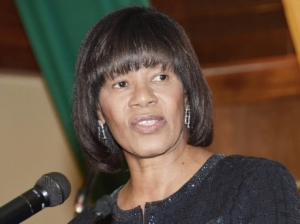Prime Minister Portia Simpson Miller. (Photo: Gleaner)