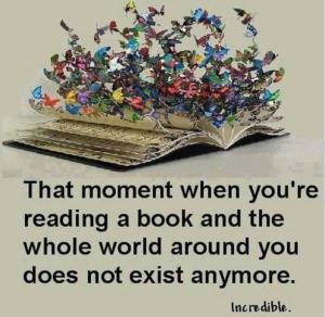 """This was how I felt about books, as a child. Yes, a """"bookworm,"""" I was."""