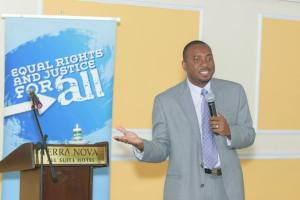 Guest speaker Dr. Kevin Harvey asks: Who will advocate for Jamaicans living with HIV/AIDS in the future.