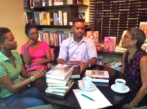 Roshane (center) is an Anne Rice fanatic.